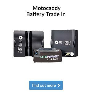 Motocaddy Battery Trade In - Get £25 Off